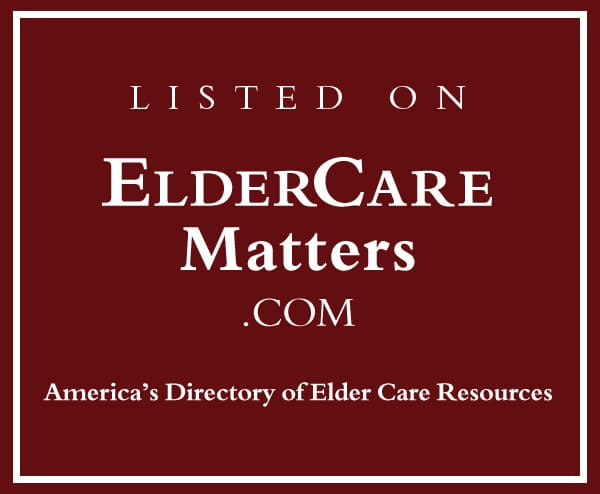 Listed on ElderCare Matters