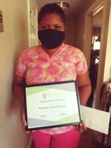 Caregiver of the Month!
